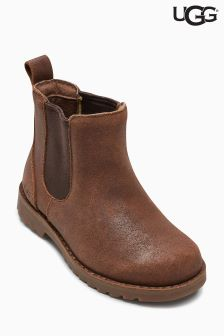 UGG® Kids Chocolate Callum Chelsea Boot