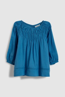 Pleat Blouse (3mths-6yrs)