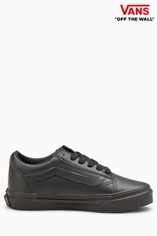 Vans Black Leather Old Skool
