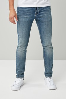 Light Blue                     Skinny Fit                     Stretch Jeans