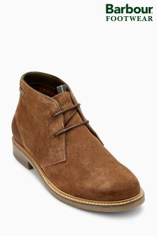 Barbour® Tobacco Suede Readhead Chukka Boot