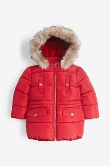 Непромокаемая дутая куртка (3 мес.-7 лет)