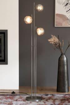 Gold Portland 3 Light Floor Lamp