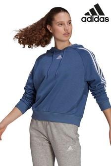 adidas 3 Stripe Sport Fashion Pullover Hoody