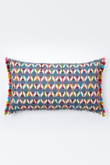 Monsoon Hand Tufted Geometric Cushion