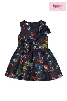 de4570c37 baker by Ted Baker Toddler Girls Navy Scuba Dress