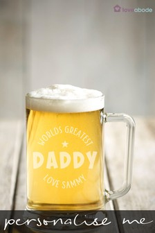 Personalised Dad Beer Tankard by Loveabode