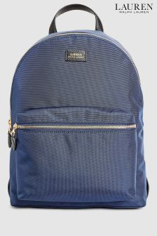 Lauren Ralph Lauren® Navy Nylon Backpack