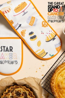 The Great Stand Up To Cancer Bake Off 2021 Star Baker Oven Gloves