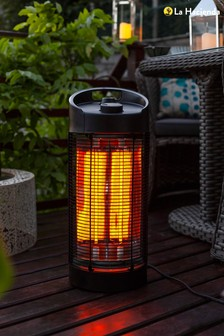 Nerva Revolving Electric Outdoor Table Heater by La Hacienda