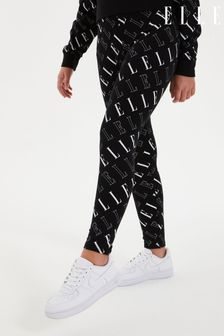 ELLE All Over Print Logo Leggings