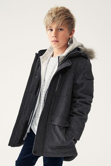 Куртка-парка (3-16 лет)