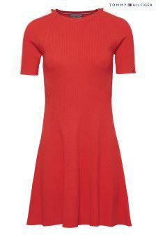 Tommy Hilfiger Red Rayana Dress