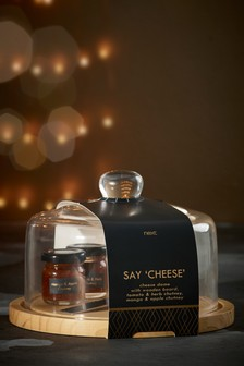 Cheese Dome And Chutney Gift Set