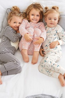 Polar Bear Snuggle Pyjamas Three Pack (9mths-8yrs)