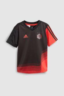 adidas Black/Red Star Wars™ Tee