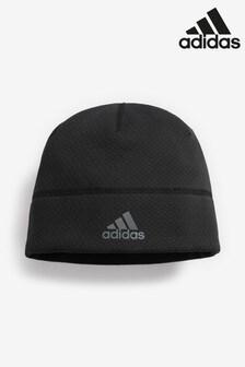 Čierna čiapka adidas Climaheat