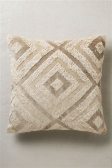 Country Luxe Geometric Cushion