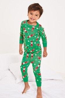 Vianočné pyžamo s elfom (9 mes. – 12 rok.)