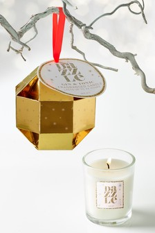 Gin And Tonic Bauble Candle