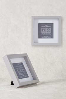grey photo frames grey single multi photo frames next. Black Bedroom Furniture Sets. Home Design Ideas
