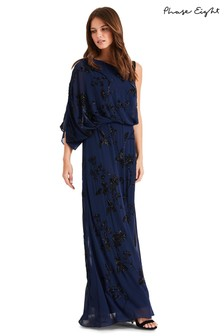 Phase Eight Blue Shirley Embellished Dress