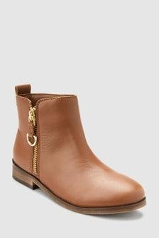 Zip Chelsea Boots (Older)