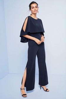 Cape jumpsuit