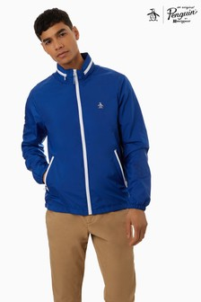 Original Penguin® Blue Heritage Windbreaker Jacket