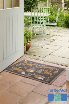 Turtle Mats Dirt Trapper Country Living Fox Doormat
