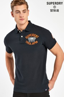 Superdry Black Classic Poloshirt
