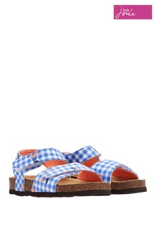 Joules Blue Tippytoes Strapped Sandal