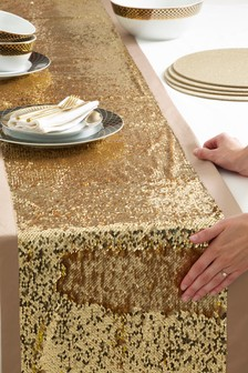 Sequin Table Runner