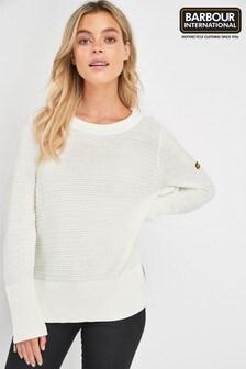 סוודר שלBarbour® International דגםGarrow עם טקסטורה