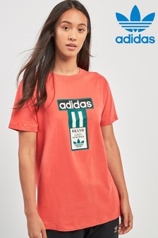 adidas Originals Red Logo Tee