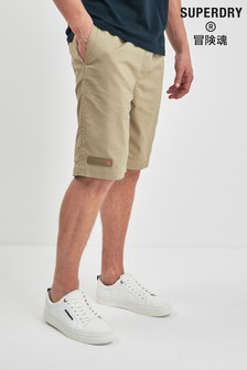 Superdry Khaki Chino Short