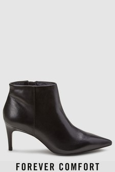 Forever Comfort Leather Shoe Boots