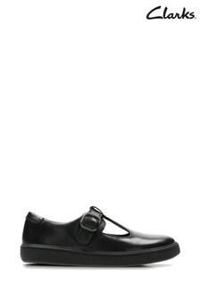 Clarks Black Street Soar Y Shoe
