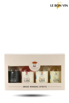 Le Bon Vin Miniature Gin Assortment Gift Set