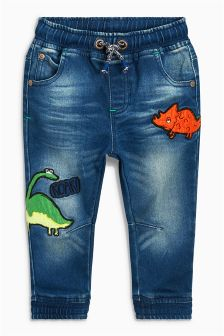 Dinosaur Character Jeans (3mths-6yrs)