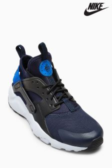 Nike Black/Blue Huarache