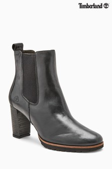 Timberland® Leslie Black Anne Chelsea Boot