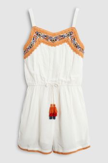 Tassel Playsuit (3-16yrs)