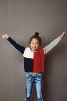 Colourblock Sweater (3-16yrs)