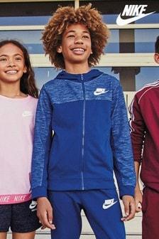 Nike Navy Full Zip Hoody