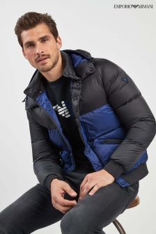 Emporio Armani Colourblock Padded Jacket