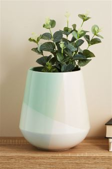 Colourblock Vase