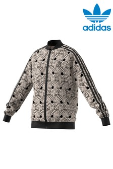 adidas Originals Zebra Print Track Top