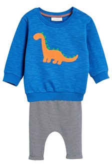 Dinosaur Jumper And Leggings Set (0mths-2yrs)