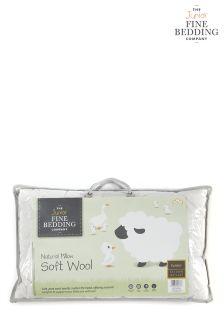 Fine Bedding Company Junior Wool Pillow